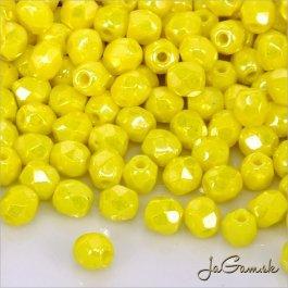 Ohňovky 3 mm žltá s listrom 40 ks (5026)