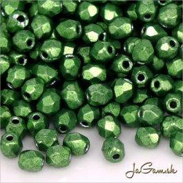 Ohňovky 3 mm zelená metalic 77059cr - 40 ks (5036)