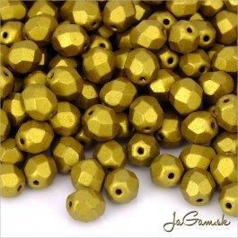 Ohňovky 8 mm zlatá K0172JT 10 ks (5922)