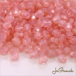 Ohňovky 3 mm ružová milky pink 71010 40 ks (5047)