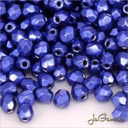 Ohňovky 3 mm modrá metalic 77065cr - 60 ks (5035)