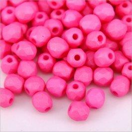 Ohňovky 4 mm ružová 30ks  (5308)