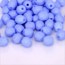 Ohňovky 4 mm modrá matná 30ks  (5311)
