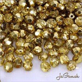 Ohňovky 4 mm zlatá/ priehľadná 97387CR 40 ks (5372)