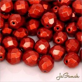 Ohňovky 6 mm červená metalická 05A08 20 ks (5655)
