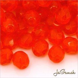 Ohňovky 8 mm, 10 ks, oranžovočervená (5910)