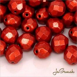 Ohňovky 8 mm červená metalická 05A08 10 ks (5933)