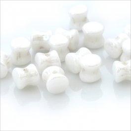Pellet Preciosa biela perleťová 30 ks (02/22)