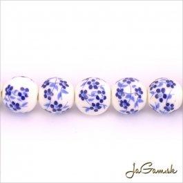 Porcelánové korálky 10 mm, 2 ks (11031_02)