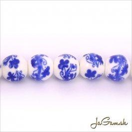 Porcelánové korálky 10 mm, 2 ks (11031_05)