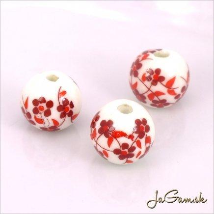 Porcelánové korálky 12 mm, 2 ks (11033_01)