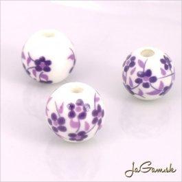 Porcelánové korálky 12 mm, 2 ks (11033_02)
