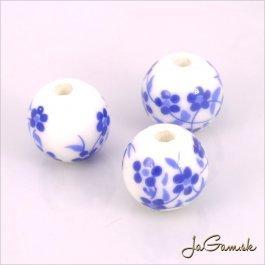 Porcelánové korálky 12 mm, 2 ks (11033_03)