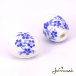 Porcelánové korálky 12x10 mm, 2 ks (11032_05)