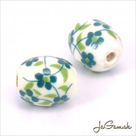 Porcelánové korálky 12x10 mm, 2 ks (11032_07)