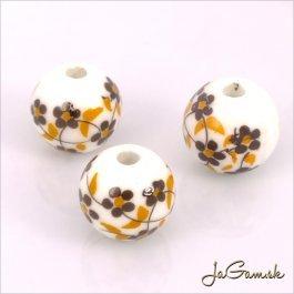 Porcelánové korálky 10 mm, 2 ks (11031_06)