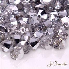 Slniečka 4 mm Crystal pokov 20 ks (7010)