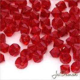 Slniečka 4 mm Ruby 20 ks (7007)
