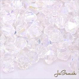 Slniečka 4 mm crystal AB 30 ks (7022mc)