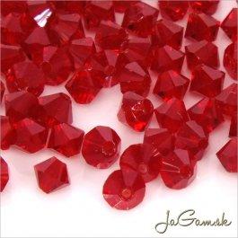 Slniečka 3 mm Ruby 40 ks (7006)