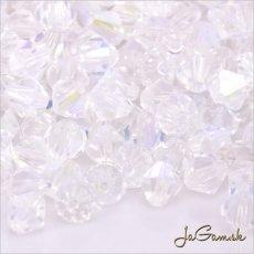 Slniečka 4 mm crystal AB 20 ks (7022mc)