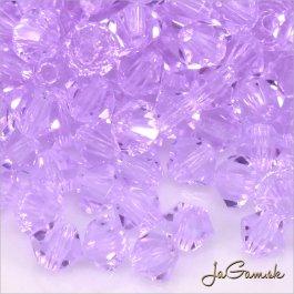 Slniečka 4 mm fialová 30 ks (7030mc)