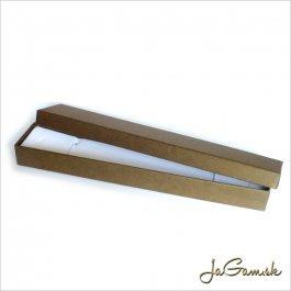 Darčeková krabička 22,5 x 4 x 2 cm hnedá (k1017)