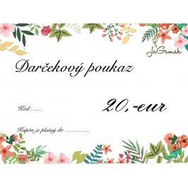 Darčekový poukaz - PDF