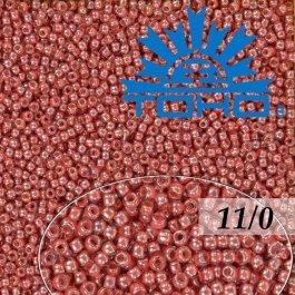 Toho Rokajl 11/0 Trans-Lustered Rose/Mauve Lined č.291 8g