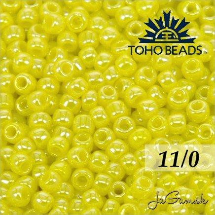 Toho Rokajl 11/0 - Opaque-Lustered Dandelion č.128 25g