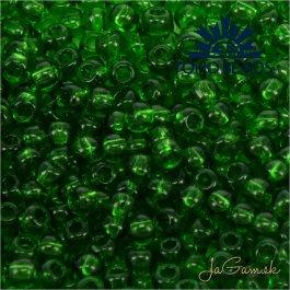 Toho Rokajl 11/0 Transparent Grass Green č.7B 8g