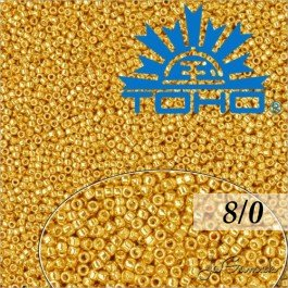 Toho Rokajl 8/0 Galvanized Starlight č.PF557 10g