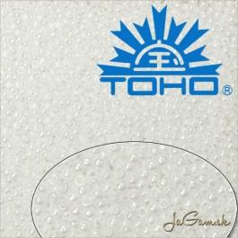Toho Rokajl 15/0 Opaque-Lustered White 25g (č.121)