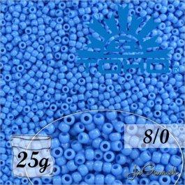 Toho Rokajl 8/0 - Opaque Cornflower č.43D 25g
