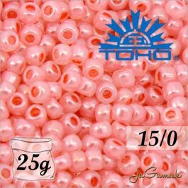Toho Rokajl 15/0 - Ceylon Impatiens Pink č.911 25g