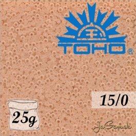 Toho Rokajl 15/0 Transparent-Frosted Rosaline 5g (č.11F)