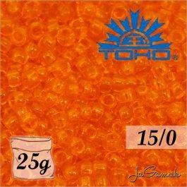 Toho Rokajl 15/0 - Transparent Hyacinth (č.10B) 25g