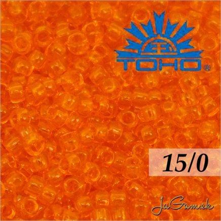 Toho Rokajl 15/0 - Transparent Hyacinth (č.10B) 5g