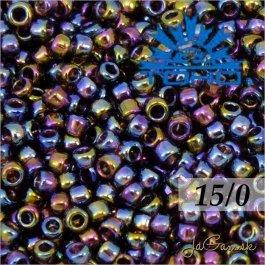 Toho Rokajl 15/0 -Transparent-Rainbow Amethyst (č.166C) 5g