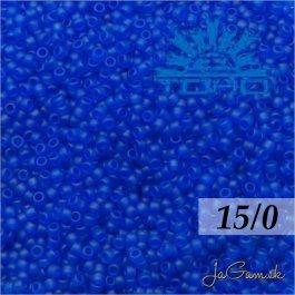 Toho Rokajl 15/0- Transparent-Frosted Dk Sapphire (č.8F) 5g