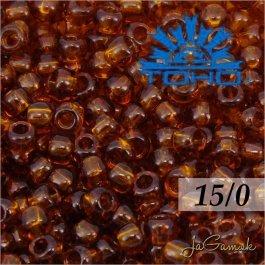 Toho Rokajl 15/0 - Transparent Smoky Topaz (č.941) 5g