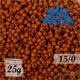 Toho Rokajl 15/0 - Opaque Terra Cotta (č.46L) 5g
