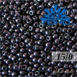 Toho Rokajl 15/0 - Metallic Amethyst Gun Metal č.90 5g