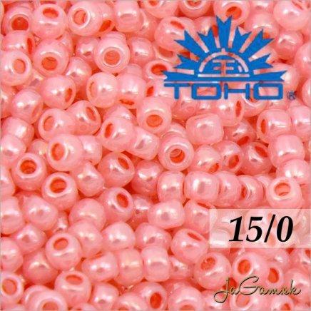 Toho Rokajl 15/0 - Ceylon Impatiens Pink č.911 5g