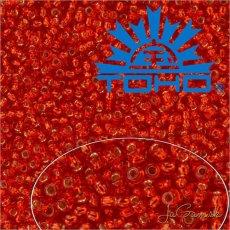 Toho Rokajl 15/0 Silver-Lined Siam Ruby, 25g (č.25B)