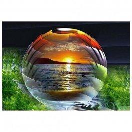 Diamantové maľovanie - Magická guľa 30x40 cm (ml011)
