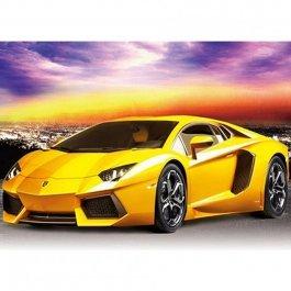 Diamantové maľovanie - Žlté auto 30x40 cm (ml016)